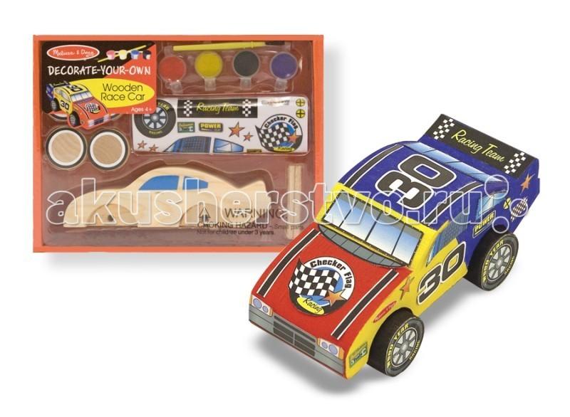 Наборы для творчества Melissa & Doug Набор Создай свою собственную гоночную машину