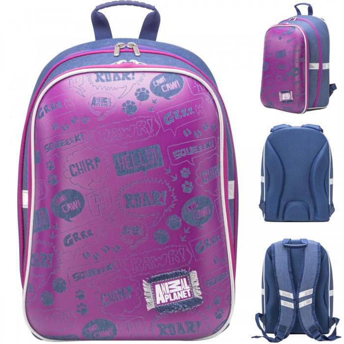 Action Рюкзак школьный для девочки Animal planet 40х29х16 см