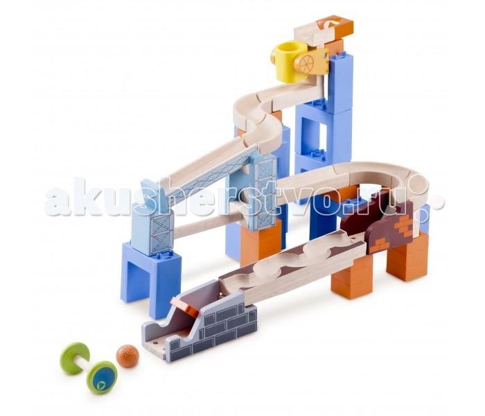 Деревянная игрушка Wonderworld Trix-Track Прыжки с мостом 3 в 1