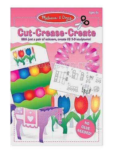 Наборы для творчества Melissa & Doug Набор для творчества Оригами без клея розовый наборы для творчества sentosphere набор для детского творчества оригами