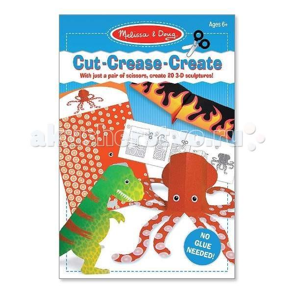 Наборы для творчества Melissa & Doug Набор для творчества Оригами без клея голубой наборы для творчества eastcolight набор для исследований tele science 35 предметов
