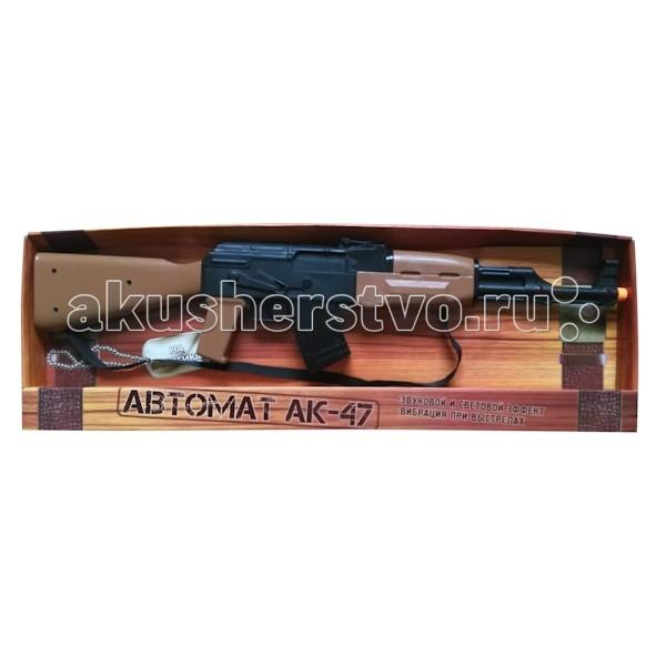 Игрушечное оружие Играем вместе Игрушечный Автомат Арсенал АК-47 автомат калашникова пневматический в москве