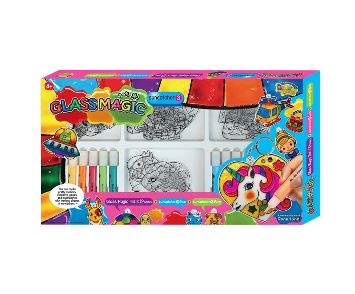 Творчество и хобби , Наборы для творчества Glass Magic Набор для рисования витражей №3 арт: 501626 -  Наборы для творчества