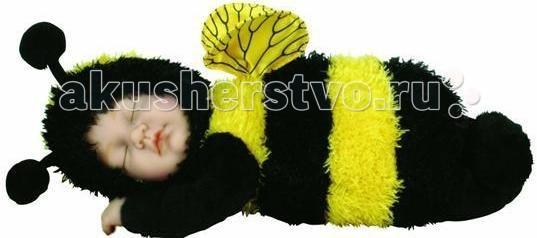 Мягкие игрушки Unimax Детки-пчелки 30 см кукла пупс unimax детки пчелки 36 см 572110