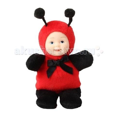 Мягкие игрушки Unimax Детки-божьи коровки 15 см кукла пупс unimax детки пчелки 36 см 572110