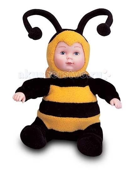 Мягкие игрушки Unimax Детки-пчелки 15 см кукла пупс unimax детки пчелки 36 см 572110