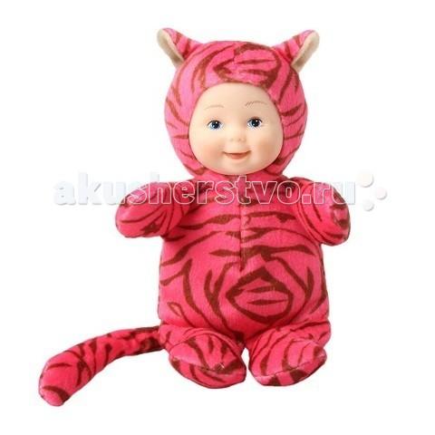 Мягкие игрушки Unimax Детки-тигрики 15 см кукла пупс unimax детки пчелки 36 см 572110