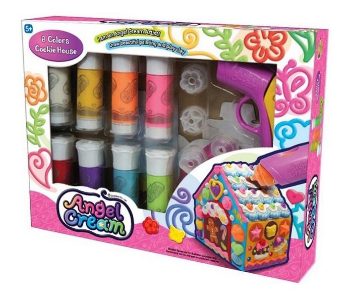 Творчество и хобби , Наборы для творчества Angel Cream Набор для 3D рисования Пряничный домик, 8 цветов арт: 502206 -  Наборы для творчества
