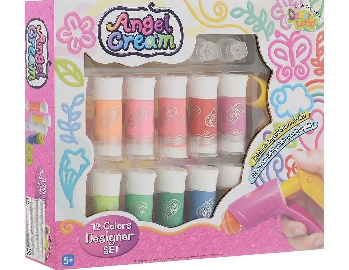 Творчество и хобби , Наборы для творчества Angel Cream Набор для 3D рисования Дизайнер, 12 цветов арт: 502216 -  Наборы для творчества