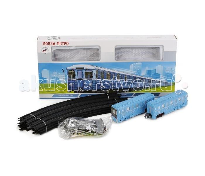 Железные дороги Играем вместе Железная дорога Метро со светом и звуком B806137 цены онлайн
