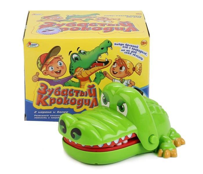 Настольные игры Играем вместе Настольная игра Зубастый крокодил игра детская настольная крокодил