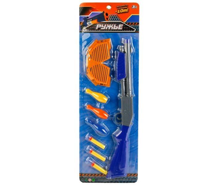 Игрушечное оружие Играем вместе Игрушечное детское ружье игрушечное оружие zuru x shot ружье с мишенями атака пауков