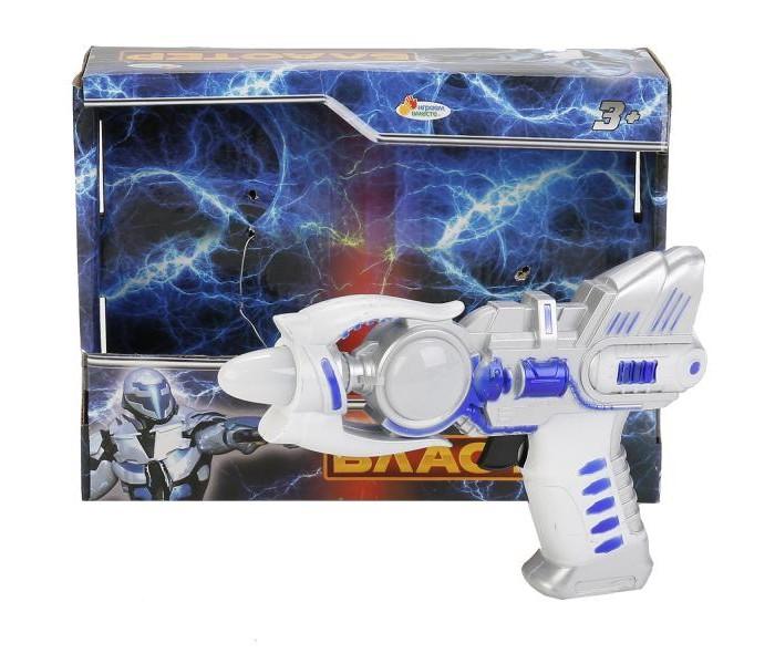 Игрушечное оружие Играем вместе Бластер со светом и звуком плита klein со звуком и подсветкой 9490