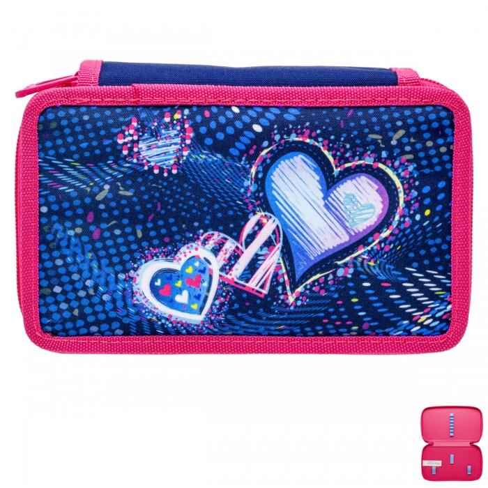 Фото - Пеналы Tiger Enterprise Пенал для девочки Сosmic collection Cosmos hearts 19x11x5 см пенал dakine lunch box 5 l augusta