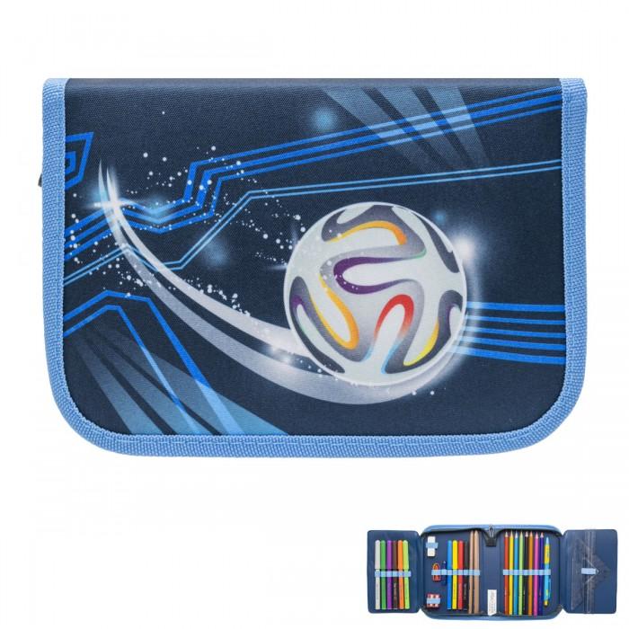 Пеналы Tiger Enterprise Пенал для мальчиков Prime collection Football evolution с наполнением