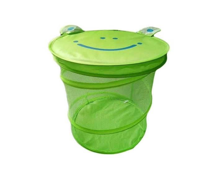 Купить Наша Игрушка Корзина для игрушек Лягушонок 38х45 см в интернет магазине. Цены, фото, описания, характеристики, отзывы, обзоры