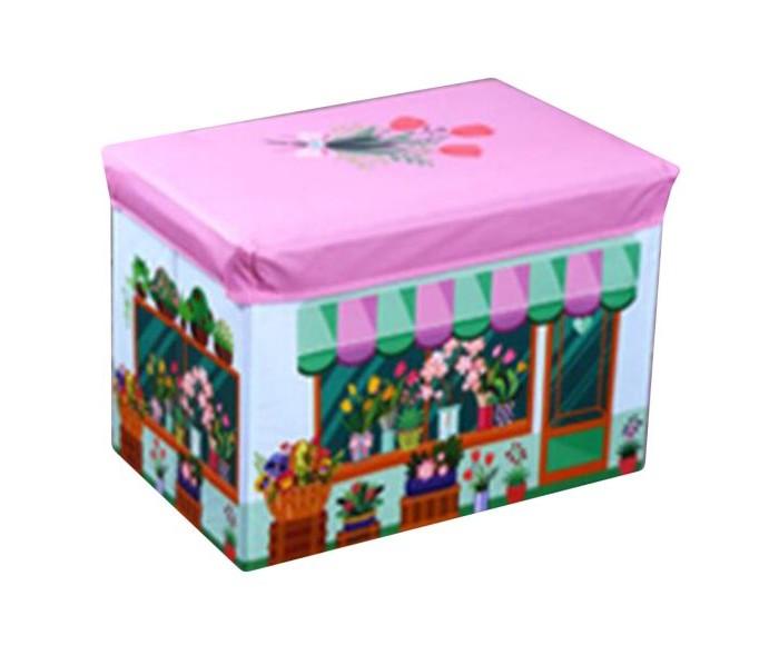 Наша Игрушка Корзина для игрушек Цветочный магазин 48х30х30 см