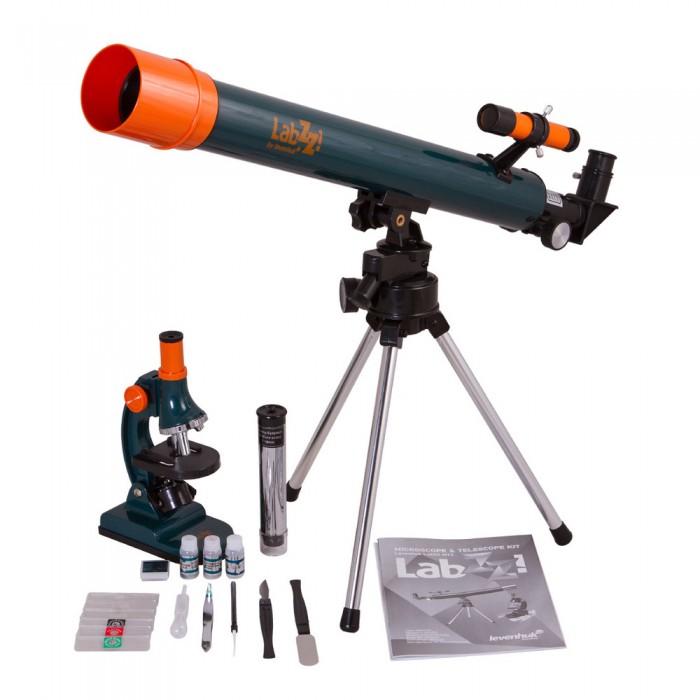 Наборы для творчества Levenhuk Набор из микроскопа и телескопа LabZZ MT2, Наборы для творчества - артикул:503151