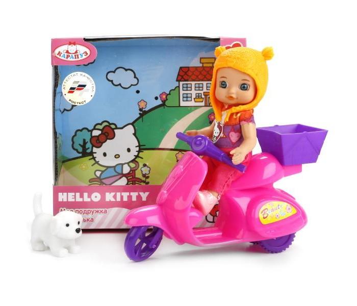 Куклы и одежда для кукол Карапуз Кукла Hello Kitty 12 см куклы карапуз кукла карапуз hello kitty машенька 12 см на скутере
