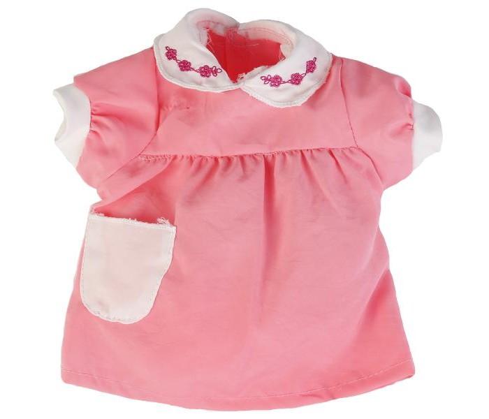 Куклы и одежда для кукол Карапуз Одежда для куклы Платье с кармашками куклы и одежда для кукол карапуз принцесса рапунцель 25 см