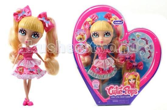 Jada Cutie Pops Dolls Набор Делюкс Шифон в розовом с аксессуарами