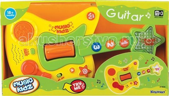 Музыкальные игрушки Keenway Гитара серия Music Kidz набор строительных инструментов keenway