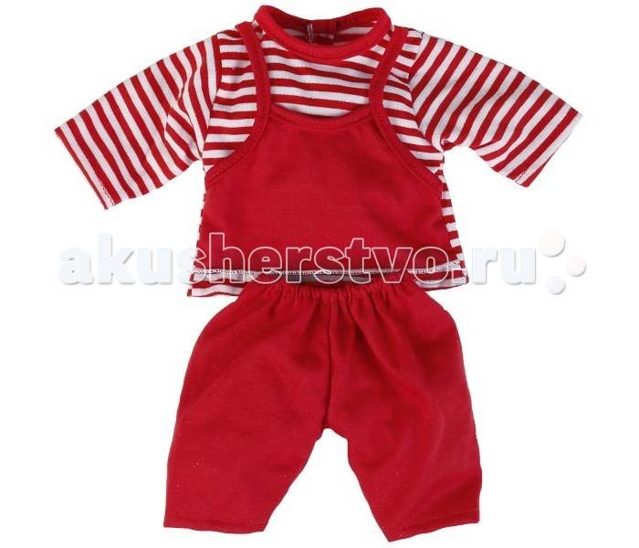 Куклы и одежда для кукол Карапуз Одежда для кукол Кофта и штаны брендовая одежда