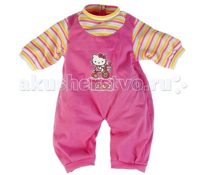Куклы и одежда для кукол Карапуз Одежда для кукол Комбинезон Hello Kitty брендовая одежда