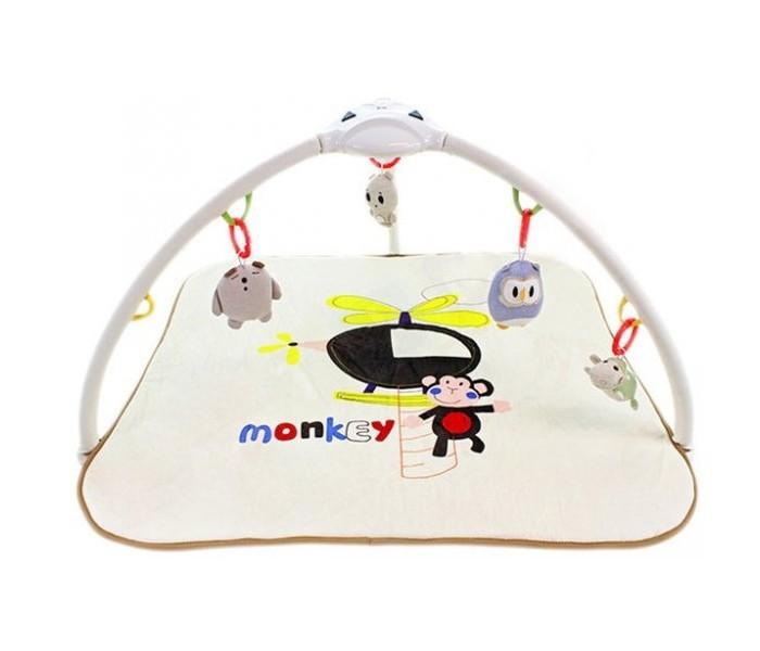 Купить Развивающие коврики, Развивающий коврик Konig Kids Веселая обезьянка с проектором
