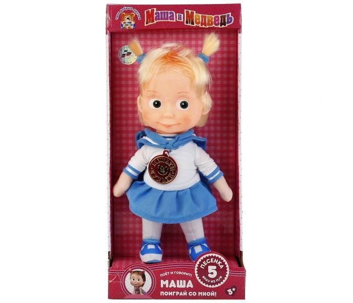 Купить Мягкие игрушки, Мягкая игрушка Мульти-пульти Маша-морячка 29 см