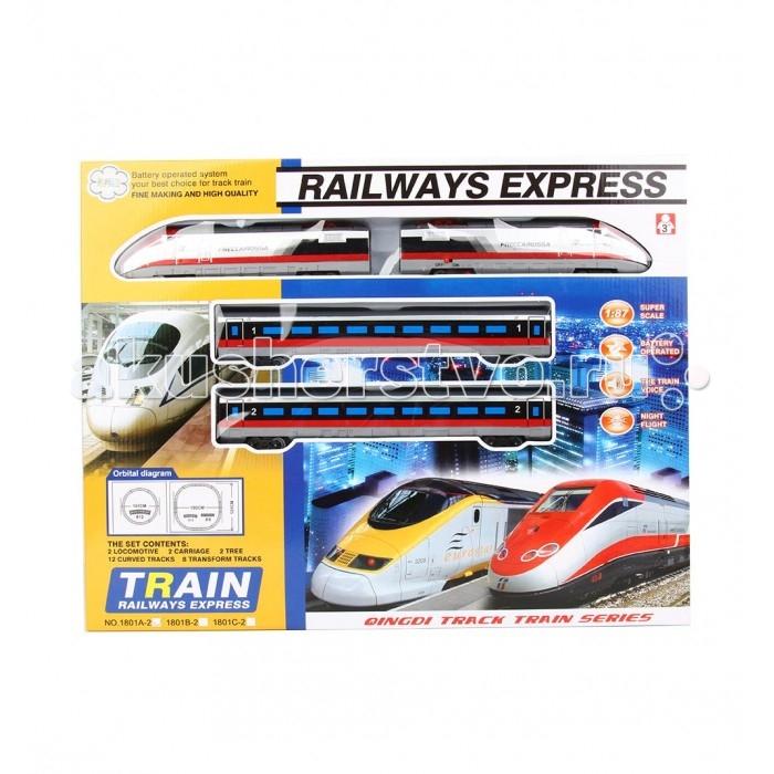 Железные дороги Игруша Железная дорога I-1801A-2 железные дороги keenway набор железная дорога