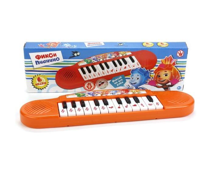 Музыкальные игрушки Умка Пианино 6 песен из м/ф Фиксики