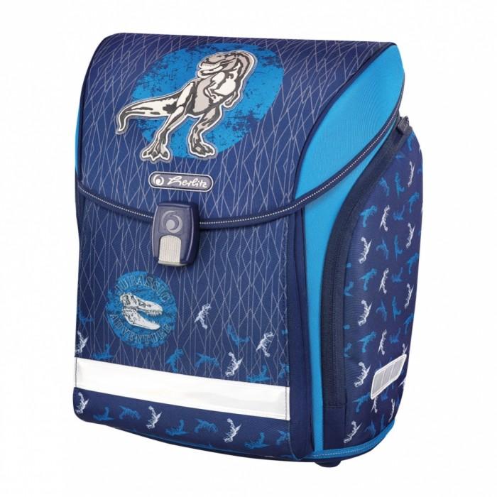 Купить Школьные рюкзаки, Herlitz Ранец Midi Blue Dino