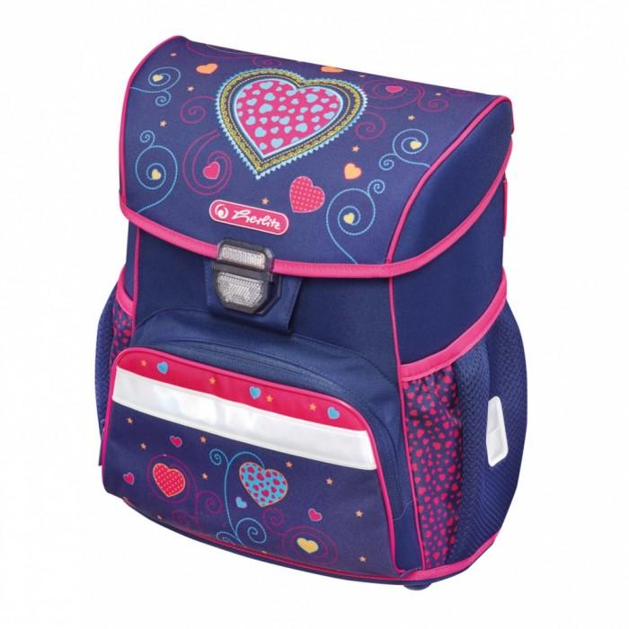 Купить Школьные рюкзаки, Herlitz Ранец Loop Plus Empty Blue Hearts
