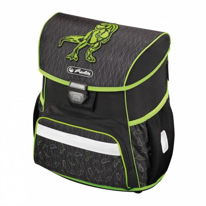 Купить Школьные рюкзаки, Herlitz Ранец Loop Green Dino