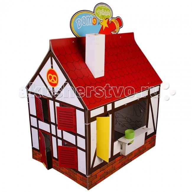 Yoh-ho! Игровой домик Детский раскраска cменный декорИгровой домик Детский раскраска cменный декорДетский домик-раскраска Yoh-ho cменный декор.  Ребенку быстро надоедает новое, и детская превращается в склад заброшенных игрушек. Мы создали домик, который никогда не надоест! Сменный декор крепится к бурой основе домика-ширмы хомутиками через вырубленные отверстия и кардинально меняет игру! Белая сторона с раскраской остается внутри домика. В период праздников в домике можно прятать подарки, а почтовый ящик ждет писем Деду Морозу или Доброй Феи с просьбами от вашего малыша! Сменный декор ЙОХО! продается в комплекте с домиком-раскраской КЛАССИКА.  Сменный декор ЙОХО! продается с игровым реквизитом:  труба-раскраска  флаги  вывески  навес  монетки термометр.<br>