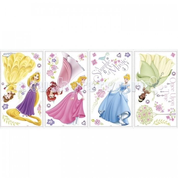 Декорирование RoomMates Наклейки для декора Дисней: Принцессы персонажи, Декорирование - артикул:506096