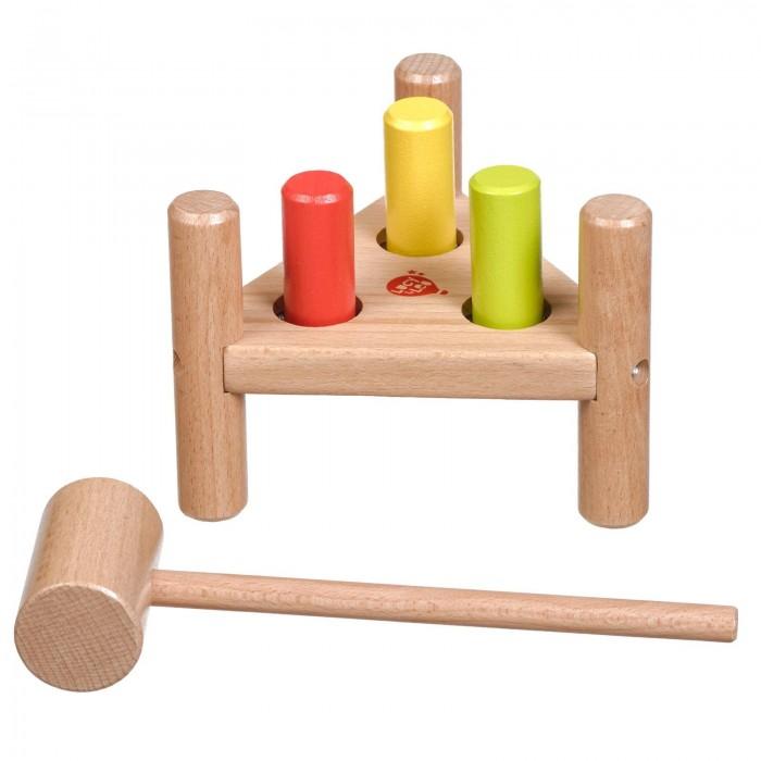 Деревянные игрушки Lucy Leo Стучалка Треугольник деревянные игрушки lucy leo магический треугольник