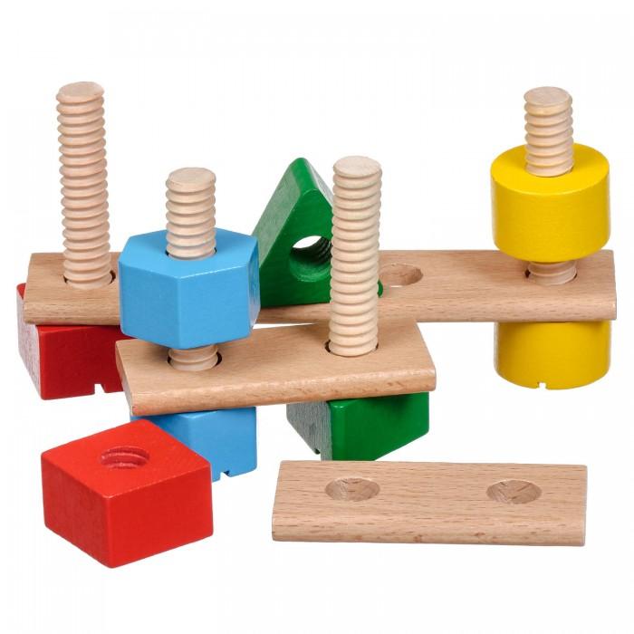 Деревянные игрушки Мир деревянных игрушек Набор для развития моторики (11 деталей) деревянные игрушки мир деревянных игрушек кубики 1х3 номер 1