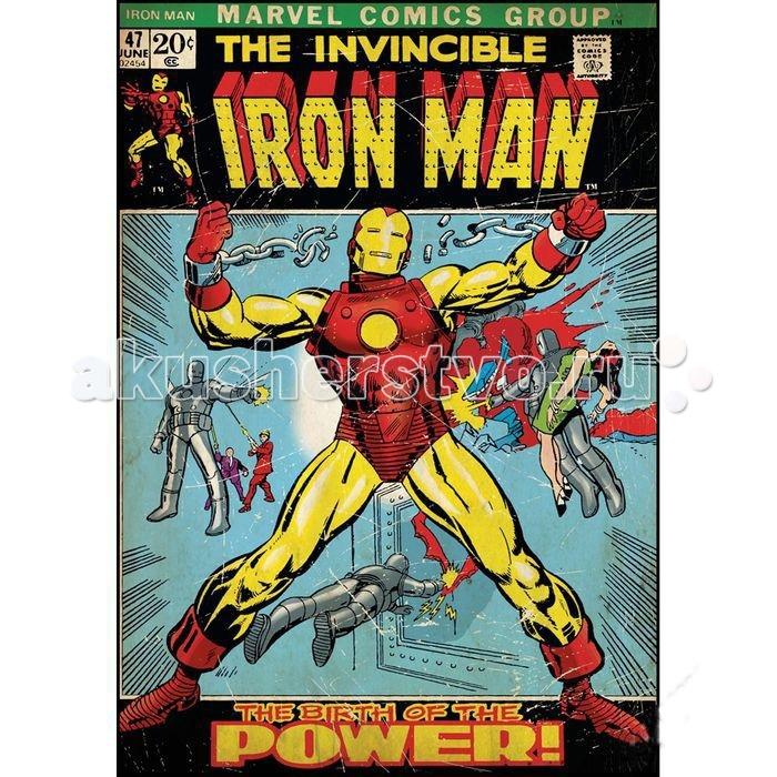 Декорирование RoomMates Наклейки для декора Комиксы Железный человек, Декорирование - артикул:506216