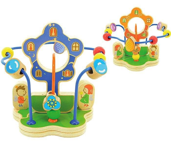 Деревянные игрушки Мир деревянных игрушек Лабиринт Волшебный цветок