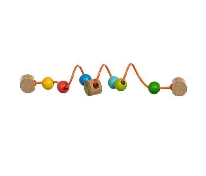 Деревянные игрушки Мир деревянных игрушек Гусеница для развития моторики деревянные игрушки мир деревянных игрушек кубики 1х3 номер 1