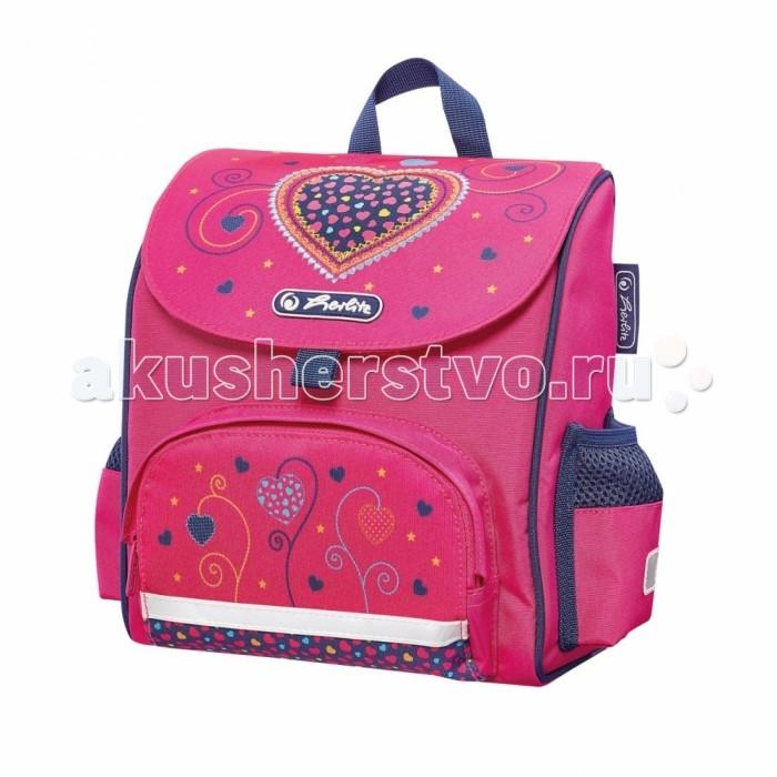 где купить Школьные рюкзаки Herlitz Ранец дошкольный Mini Softbag Pink Hearts по лучшей цене