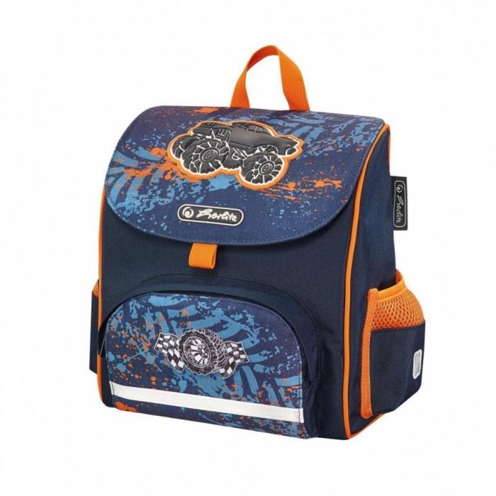 Школьные рюкзаки Herlitz Ранец дошкольный Mini Softbag Monster Truck