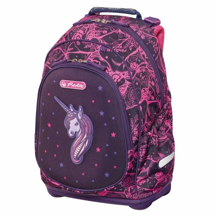 Купить Школьные рюкзаки, Herlitz Рюкзак школьный Bliss Unicorn Night