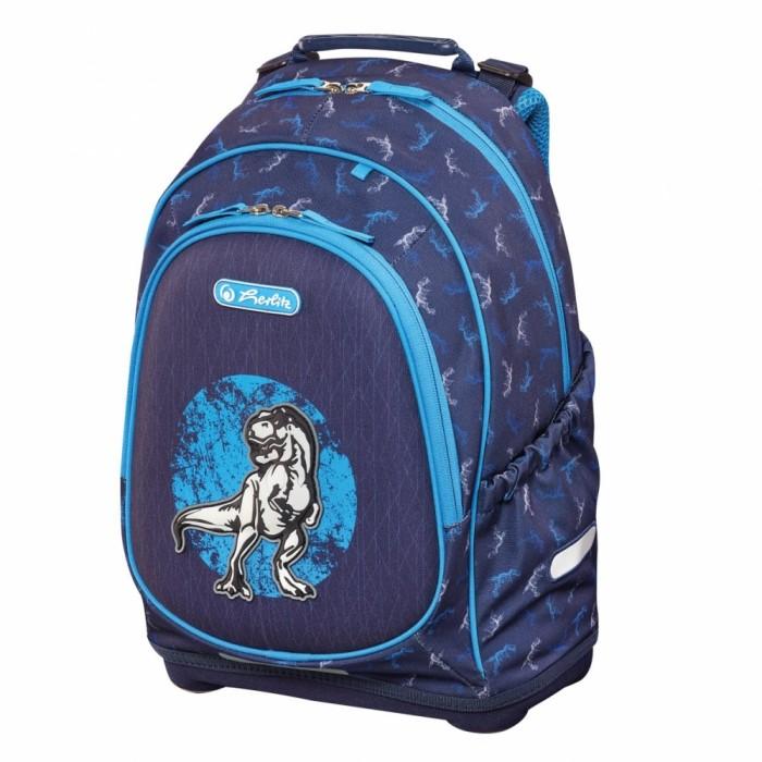 Купить Школьные рюкзаки, Herlitz Рюкзак школьный Bliss Blue Dino