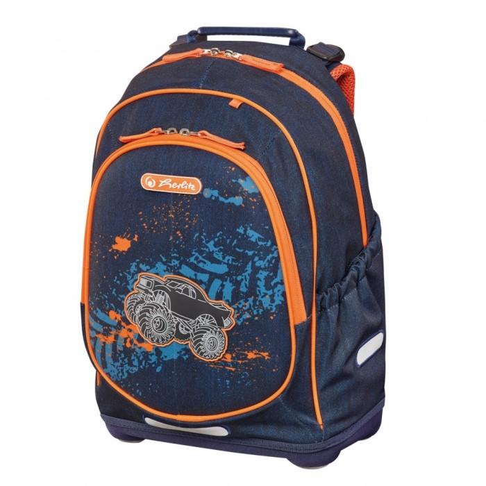Купить Школьные рюкзаки, Herlitz Рюкзак школьный Bliss Monster Truck