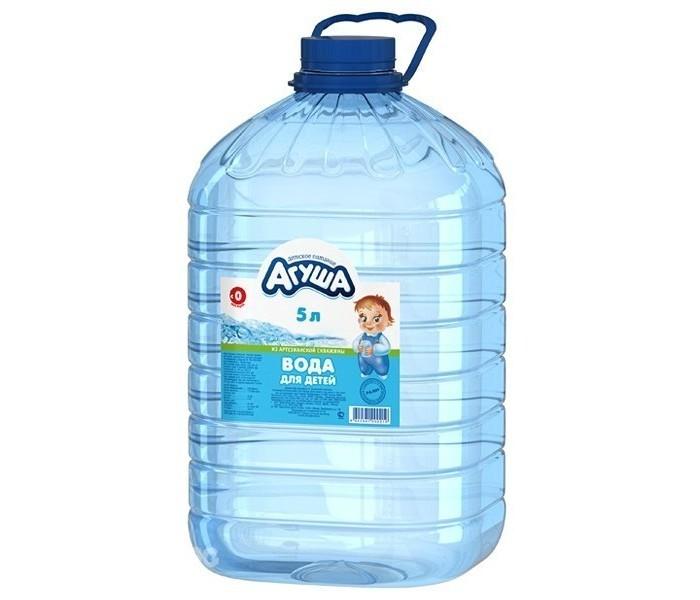 Вода Агуша Вода для детей 5 л пюре hipp пюре нежные овощи с индейкой с 12 мес 220 г