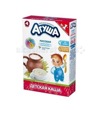 Каши Агуша Молочная Каша Рис 200 г каши агуша молочная каша рис 200 г