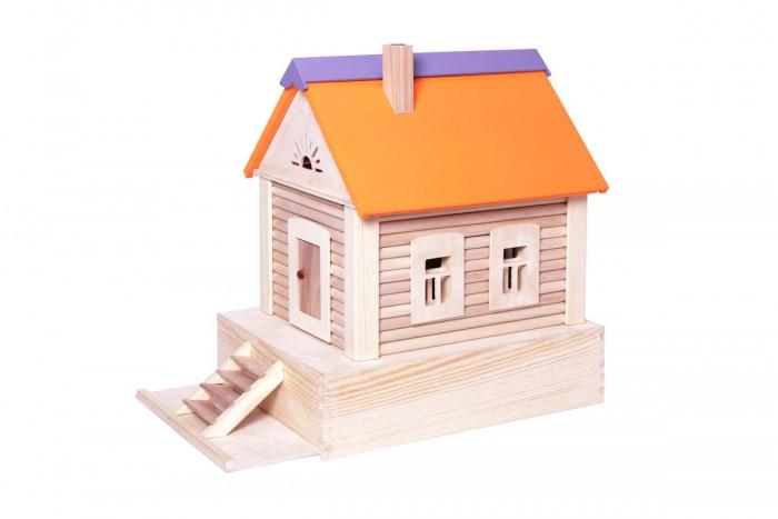 Деревянные игрушки Paremo Конструктор Избушка, Деревянные игрушки - артикул:506851
